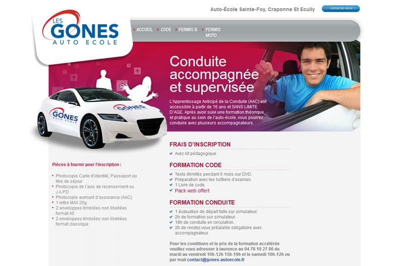 Les Gones Auto École