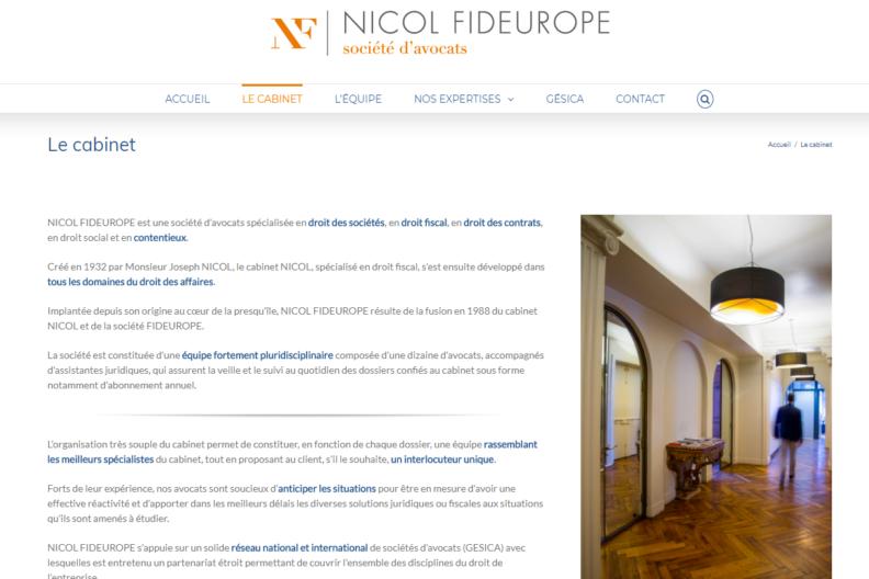 Nicol Fideurope