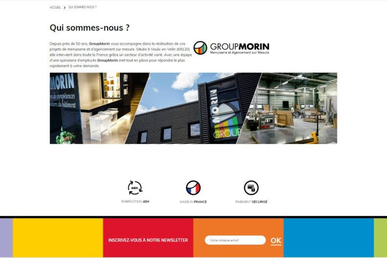 Menuiserie Express – Group Morin
